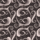 Floral seamless pattern. Vector illustration. — Stock Vector