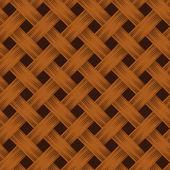Rieten textuur. vector naadloze achtergrond. — Stockvector