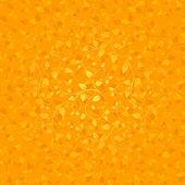 Seamless orange pattern with autumn leaves. Vector illustration. — Stock Vector