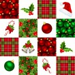 Christmas seamless background. Vector illustration. — Stock Vector
