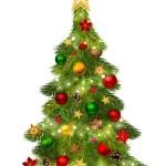 Christmas tree. Vector illustration. — Stock Vector #36835051
