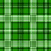 Green tartan texture. Vector seamless pattern. — Stock Vector