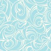 Abstract blue seamless pattern. Vector illustration. — Stock Vector