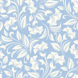 Seamless floral pattern. Vector illustration. — Stok Vektör #48190373