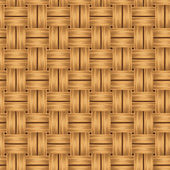 Wicker texture. Vector seamless background. — Stock Vector