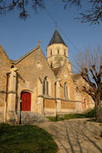 France, church of Saint Martin la Garenne in Yvelines — 图库照片