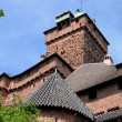 France, Haut Koenigsbourg castle in Alsace — Foto de Stock