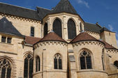 France, cathedral Saint Maclou in Pontoise — Stock Photo