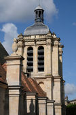 France, the Notre Dame church in Pontoise — Stock Photo