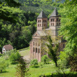 France, the roman abbey of Murbach in Alsace — Stock Photo #12901471