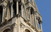 Yvelines, bell tower of Vernouillet church — Stock Photo