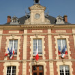 Stockfoto: France, city hall of Gasny in Eure