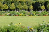 France, the garden of the castle of Rambouillet in Les Yvelines — Stock Photo
