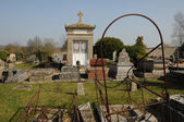 France, the cemetery of Cherence in Val d Oise — Stockfoto