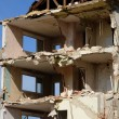 France, demolition of an old building in Les mureaux — Stock Photo