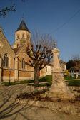 France, church of Saint Martin la Garenne in Yvelines — Stock Photo