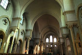 France, the church Saint Lubin of Rambouillet — Stock Photo