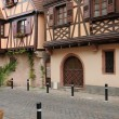 The picturesque city of Obernai in Alsace — Stock Photo