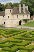 Renaissance castle in the Domaine de Villarceaux — Stock Photo
