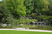 Canada, Ja panese garden in the Botanical Garden of Montreal — Stock Photo