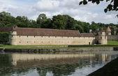 Renaissance castle in the Domaine de Villarceaux — Stock Photo