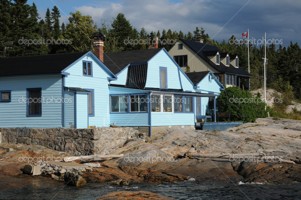 Canada, Quebec, the picturesque village of Tadoussac  Stock Photo #13791656