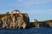 Quebec, the coast of Perce in Gaspesie — Stock Photo