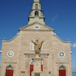 Quebec, the historical church of Saint Jean — Stock Photo