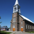Quebec, church of Lac lCroix — Stock Photo #13975536