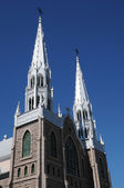 Quebec, the church of Metabetchouan — Stock Photo