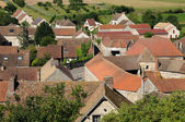 France, the village of Jumeauville in Les Yvelines — Stock Photo