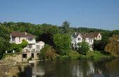 Yvelines, the village of Medan in Les Yvelines — Stock Photo