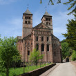 The roman abbey of Murbach in Alsace — Stock Photo #14088599