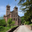 The roman abbey of Murbach in Alsace — Stock Photo