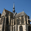 The church of Nogent le Roi in Eure et Loir — Stock Photo