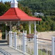 Quebec, the picturesque village of Tadoussac — Stock Photo #14148187