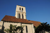 France, the church of Verneuil Sur Seine — Stock Photo