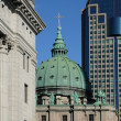 The cathedral of Montreal - Zdjęcie stockowe