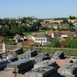 Yvelines, the cemetery of Jumeauville — Stock Photo