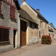 Yvelines, the village of Arnouville les Mantes in les Yvelines — Stock Photo