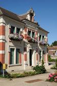 Yvelines, the city hall of Goussonville — Stock Photo