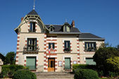 Yvelines, the city hall of Arnouville les Mantes — Stock Photo