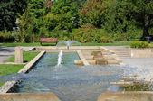 Canada, de botanische tuin van montreal — Stockfoto