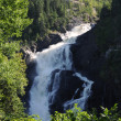 Quebec, the waterfall of Val Jalbert - Stockfoto