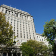 Stock Photo: Canada, sun life building in Montreal