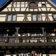 Alsace, old and historical district in Strasbourg — 图库照片