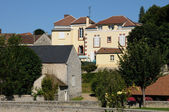 Yvelines, the village of Goussonville in les Yvelines — Stock Photo