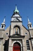 The chapel Notre Dame de Bon Secours in Montreal — Stock Photo