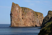 Quebec, perce rots in gaspesie — Stockfoto