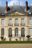 France, classical castle in the Domaine de Villarceaux — Stock Photo